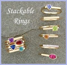 Our newest stacking rings and pendants are available in sterling silver or 14k yellow or white gold. Description from favoritejewelry.com. I searched for this on bing.com/images