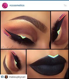 Obsessed with this look by @makeupbycari . ・・・www.rc-cosmetics.com