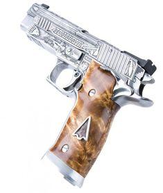 More SIG Prestige Pistol Photos: Samurai, Tomahawk, Siegfried, Tyr, Scorpion Arctic   The Firearm Blog