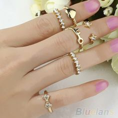 Cheap band gain, Buy Quality ring eternity band directly from China band yoga Suppliers:  High quality crystal ring set, good for going party or banquet or ceremony These can be divided on one hand, one finger
