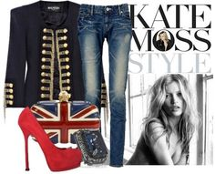 Ok, not REALLY my style but wish I could pull it off! Touch of England by ALYSSA23  Jacket