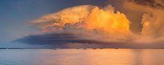 Darwin sunset storm   by Louise Denton