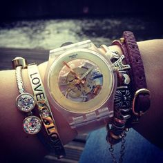 .@Ann-Marie Wattjes | The #Swatch Gilt Ghost! Thank you @deboraprovenzi for the fan picture of the ... | Webstagram