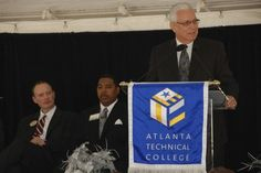 Technical College System of Georgia Commissioner Ron Jackson.  ATLANTA TECHNICAL COLLEGE OPENS THE : BRENDA WATTS JONES ALLIED HEALTH & TECHNOLOGY COMPLEX ATLANTA_TECHNICAL_COLLEGE_010 Atlanta Technical College, Georgia, Jackson, Technology, Friends, News, Health, Tech, Amigos