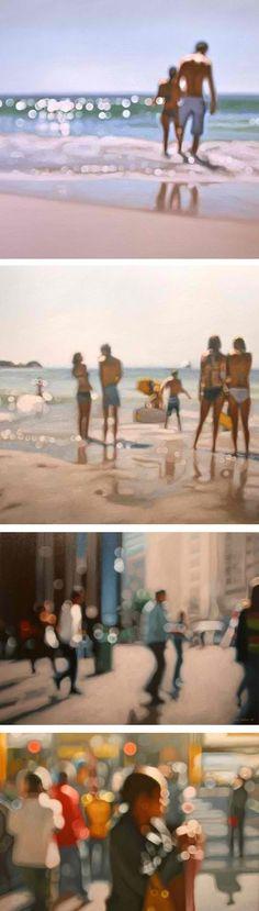 Paintings by Philip Barlow