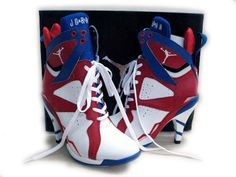 Jordans High Heeled