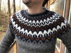 Ravelry: VgnVxn's VgnVxn's Riddari for Doug Icelandic Sweaters, Jumpers, Ravelry, Knit Crochet, Men Sweater, Knitting, Clothing, Pattern, Fashion