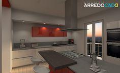 Dettagli rossi in cucina