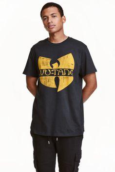 Printed T-shirt   H&M