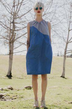 26ce67a14c54 NEW WAVE Sommer Kleid zweifarbig asymmetrischen von jenfashion,  85.00  Farbig, Sommer, Kleider,