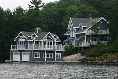 Lake Joseph, Muskoka, Ontario.  Love this cottage - great position on the lake.  Stayed near this one 2014