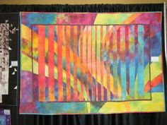 And his Harmonic Convergence quilts