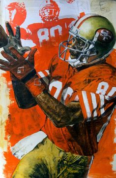 Jerry Rice, SF 49ers by Stephen Holland
