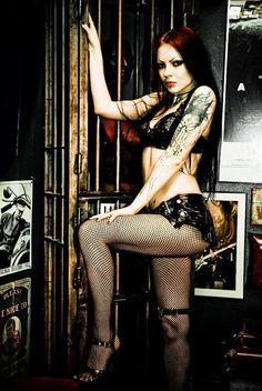 Gothic Model Liama Babalon