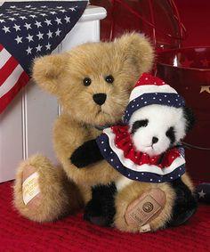 Another great find on #zulily! Frankie & Ben Plush Bear #zulilyfinds