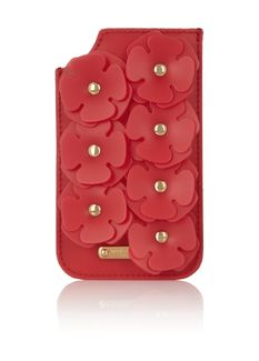 Burberry Prorsum Silicone-embellished textured-leather iPhone 5 sleeve - on #sale 70% off @ #Outnet.com  #BurberryProrsum www.coolonsale.com