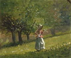 Fan account of Winslow Homer, an American landscape painter and printmaker. He is considered one of the foremost painters in America and a preeminent figure in American art. National Gallery Of Art, Art Gallery, Whistler, Famous Artists, Great Artists, Winslow Homer Paintings, Tumblr, Illustrations, American Artists
