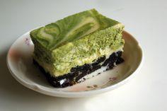 Recette japonaise - Un bon Cheese Cake au matcha (抹茶チーズケーキ) - M0shi-M0shi, Blog Japon