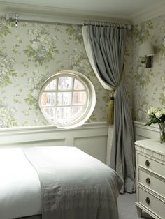 The English Joinery Company are a specialist team of designers and makers of luxury bespoke Interiors and Furniture. Shaped Windows, Curtain Poles, Beautiful Bedrooms, Joinery, Snug, Blinds, Curtains, Interior Design, Luxury