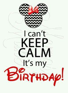 IT'S MY BIRTHDAY !!!