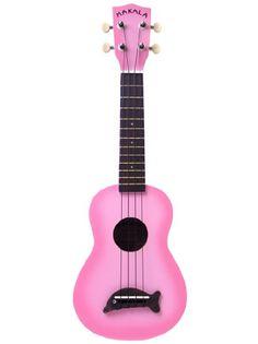 Pink Makala ukulele