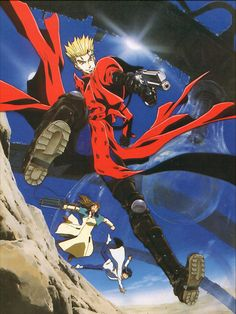 Trigun  Just started watching this I love it!!