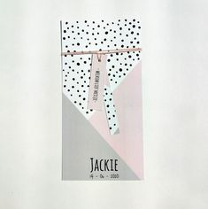 Trendy designs for a girl Baby Cards, Wall Prints, Birth, Creations, Dots, Scrunchies, Babyshower, Design, Deutsch