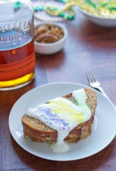 As if French toast stuffed with pecans and cream cheese weren't good enough, then you add BOURBON to this mardi gras ready breakfast.