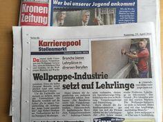 Österreichs Wellpappe-Industrie setzt auf Lehrlinge. Event Ticket, Career, Waves, Young Adults