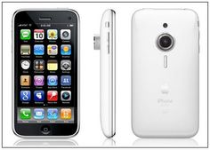 iPhone concept phone with camera