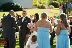 Jessica + Taylor's wedding at Lenora's Legacy. The wedding ceremony.
