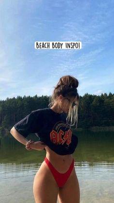 Summer Body Goals, Mode Du Bikini, Mädchen In Bikinis, Summer Bikinis, Girls In Bikinis, Fitness Inspiration Body, Bikini Poses, Cute Bathing Suits, Bikini Pictures