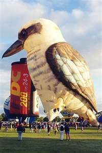 Big Bird hot air balloon