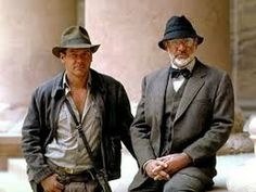 """Sean Connery and Harrison Ford are set to return to the """"Indiana Jones"""" franchise. Back when """"Indiana Jones and the Kingdom of the Crystal Skull"""" was Sean Connery, Harrison Ford, Movie Sequels, Movie Stars, Movie Tv, James Bond, Indiana Jones Films, How To Be Single Movie, Henry Jones"""