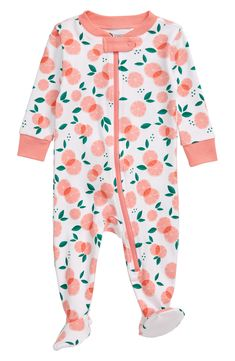 Keep your little one comfy and sleeping soundly in a snug-fitting footie that zips down the front for easy changing. Style Name:Tucker + Tate Print Fitted One-Piece Pajamas (Baby). Style Number: Available in stores. Baby Girl Fashion, Kids Fashion, Gothic Fashion, Baby Boy Outfits, Kids Outfits, Baby Girl Pajamas, Baby Girl Winter, One Piece Pajamas, Cute Baby Clothes
