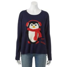 Freeze Ugly Christmas Sweatshirt - Juniors | Ugliest christmas ...