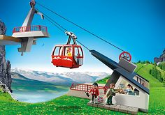 Swiss cable car playmobil