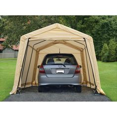 10 ft x 17 ft portable garage at harbor freight could for Temporary garage conversion