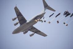C-17 airdrop