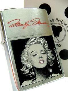 Marilyn Monroe Zippo Lighter