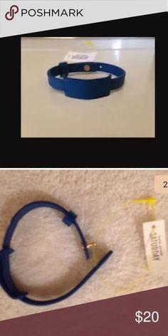 Kate Spade Saturday Blue Leather ID Bracelet Measurements:7.00 x 0.25 x 0.01 kate spade Jewelry Bracelets