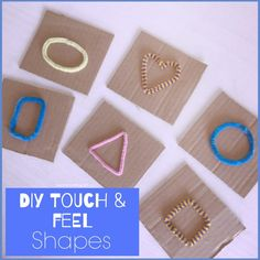 Touch feel shapes