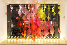 Repetto's window display - Colorful reflections                                                                                                                                                                                 More