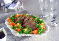 with Pistachio Crusted Roast, with Carrots and Potatoes  Recipe (Lesson 7)…