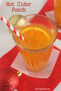 Hot Cider Punch on MyRecipeMagic.com is a nice warm holiday drink. Your guest will love this!
