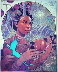 ""\\ This one has gone through lots of changes and is nearly done! """"The Surveyor"""" will be available only as a print release on . Stay tuned dropping this week! by joshuamaysart Black Girl Art, Black Women Art, Art Girl, African American Art, African Art, Black Artwork, Afro Art, Dope Art, Visionary Art""236|295|?|en|2|5be1d1fbae75c9f9b8c2e3c14563da8e|False|UNLIKELY|0.2919074594974518