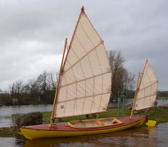 Sail, Salt and Sawdust: Home Build - Oughtred Sailing Canoe Boat Building Plans, Boat Plans, Utility Boat, Wooden Canoe, Honfleur, Cabin Cruiser, Duck Boat, Build Your Own Boat, Best Boats