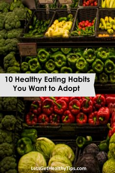 Improve your health by adopting healthy eating habits.  http://letsgethealthytips.com/healthy-eating-habits