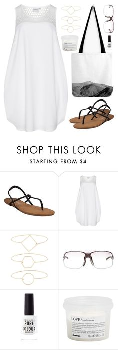 """""""OOTD - Pure White"""" by by-jwp ❤ liked on Polyvore featuring JunaRose, Accessorize, Gucci, New Look and Davines"""