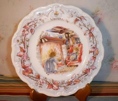 Royal Doulton Winter Brambly Hedge Collector Plate by GreenDoorSalvers, $20.00